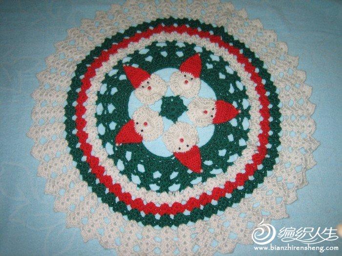 圣诞老人桌布