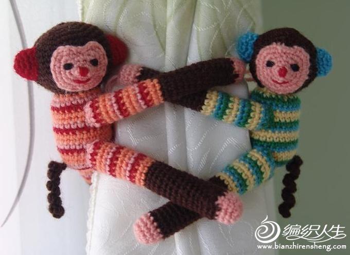 小猴窗帘夹.JPG