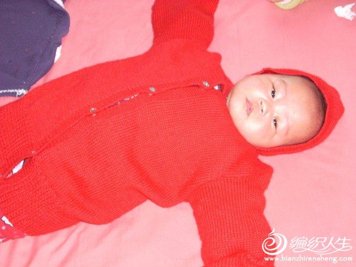 毛衣织太大了