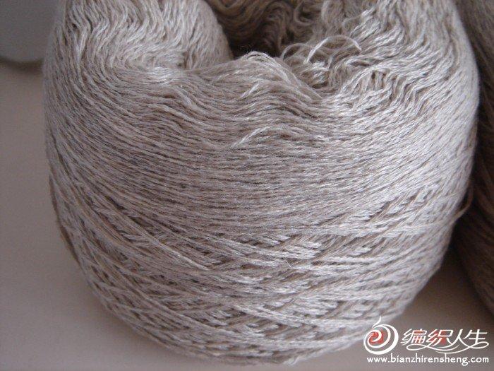 鑫阳家的28支5丝45羊绒,我已经用白色织一件给我儿子,洗后绒感很好,当时还买了灰色,谁知这两种颜色很接近 ...