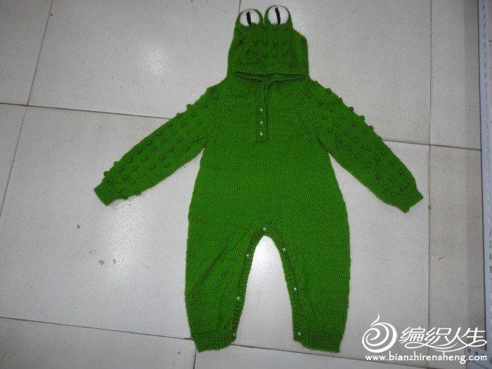 仿鳄鱼宝宝衣