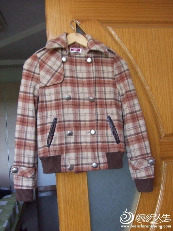 古川崎昵大衣含80%羊毛,S码,原价599,现在80元