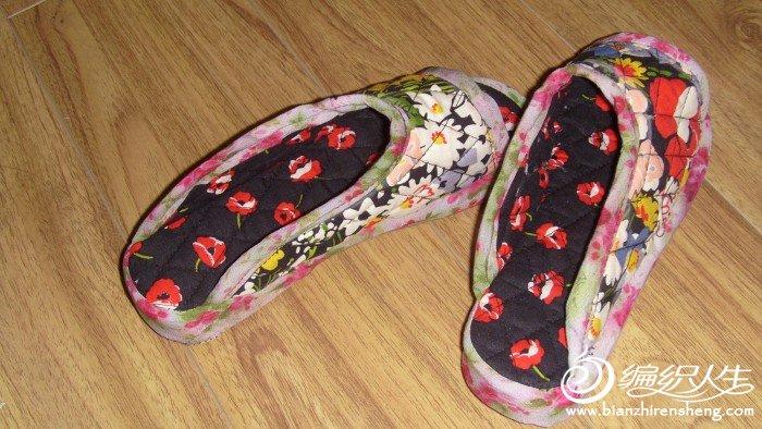 今天早上做的拖鞋