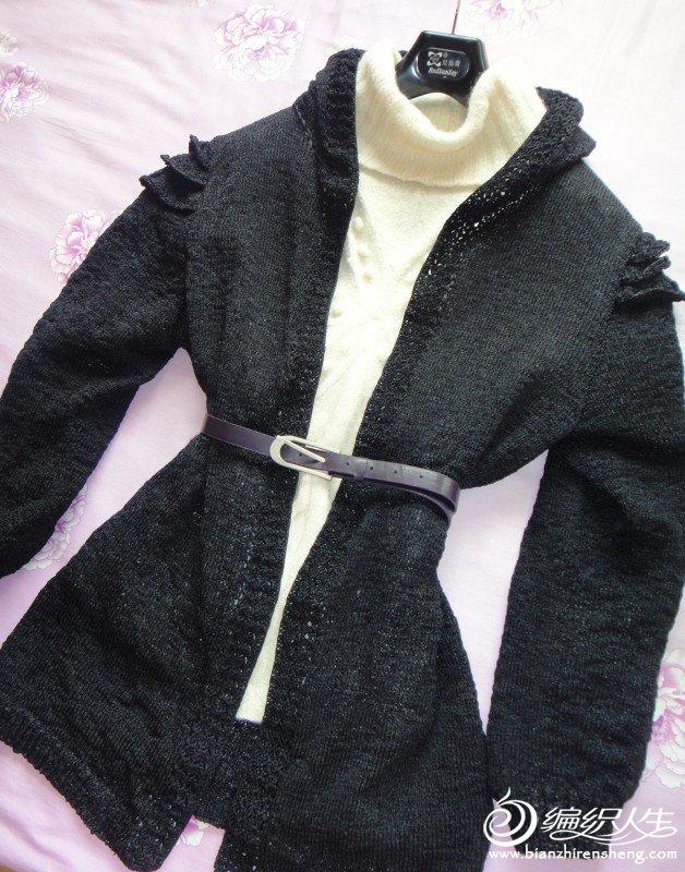 女儿的千层袖外套