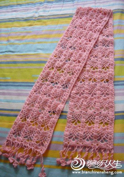 粉色菠萝花围巾1.jpg