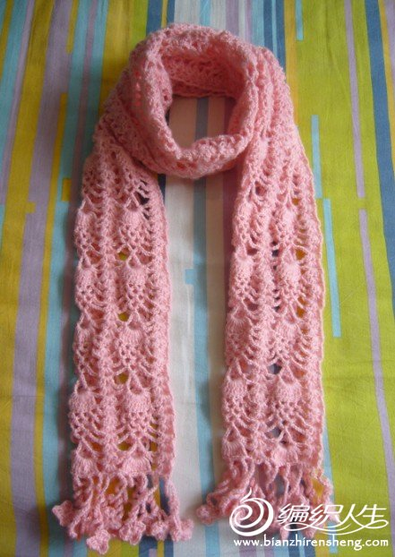 粉色菠萝花围巾.jpg