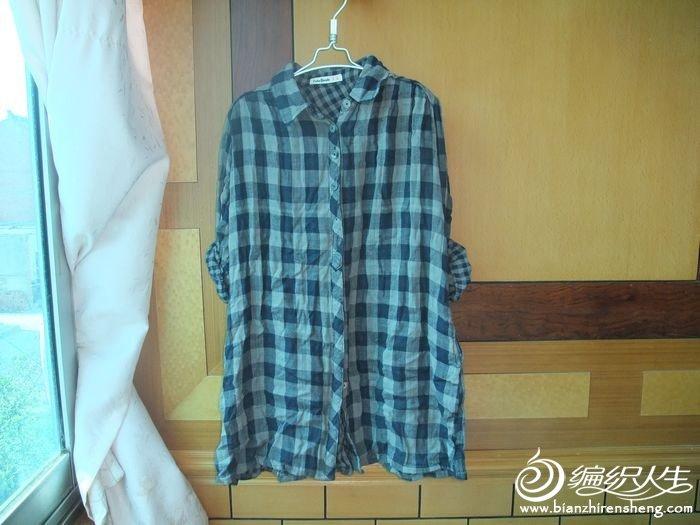 8号 外贸 棉纱格子衬衫原价60 现价45