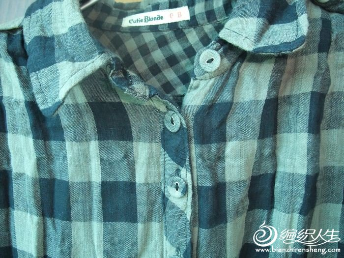 8号外贸 棉纱格子衬衫原价60 现价45