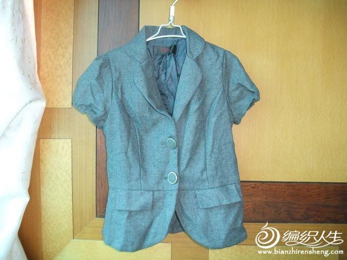 24号  毛料短袖小西装 批发价60 现价35