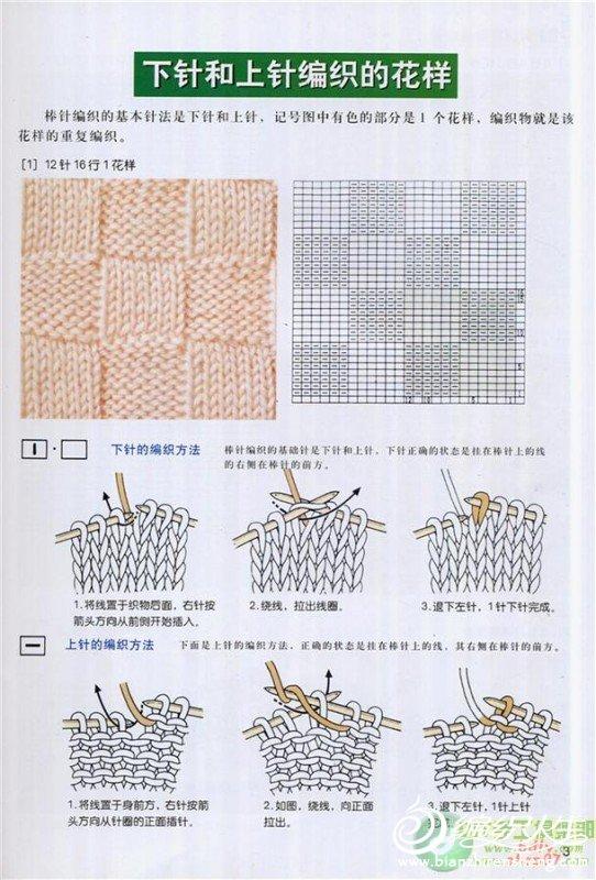 各种编织方法大全图解
