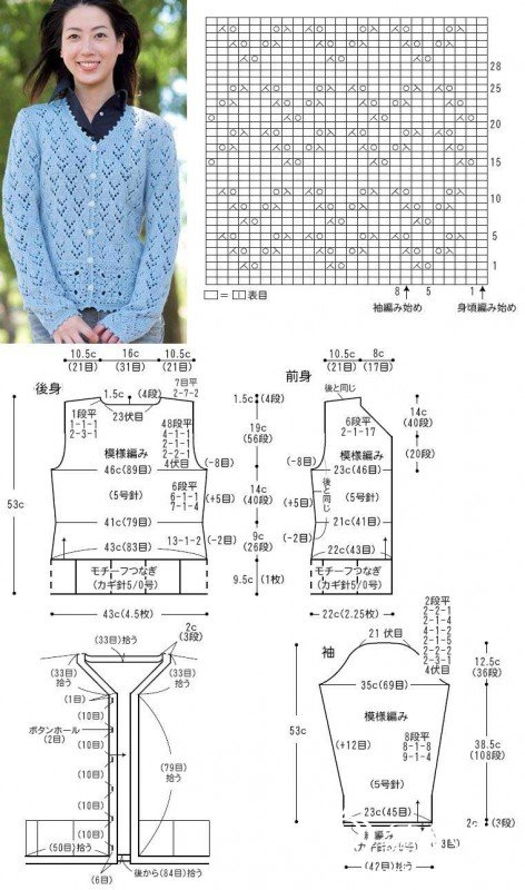 淡蓝对襟开衫镂空.jpg