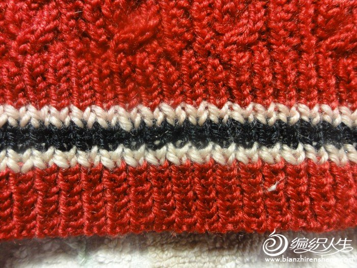 下边纺织方法及配色
