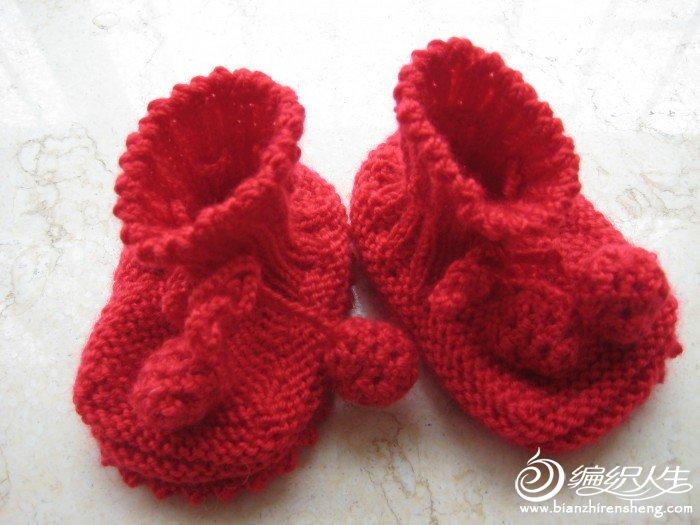 淘淘的小鞋子红色