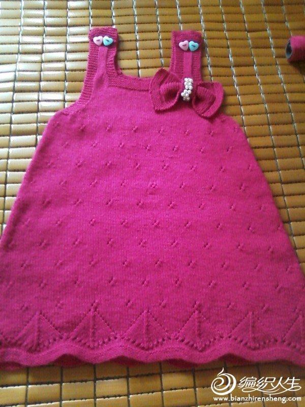 裙子洗过后非常平整,根本不用再熨烫了,蝴蝶结没有下水洗,想要它显硬挺的效果呢,下面用扣针扣住的,可以 ...