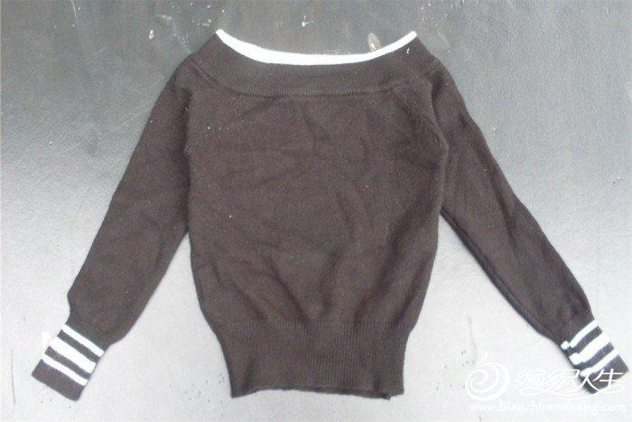 一字领毛衣..15元 尺码全