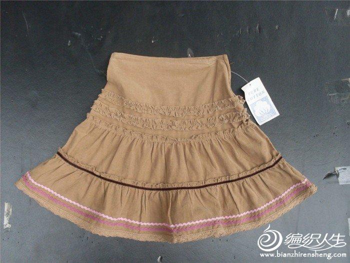 细条绒秋裙(儿童)15元.....