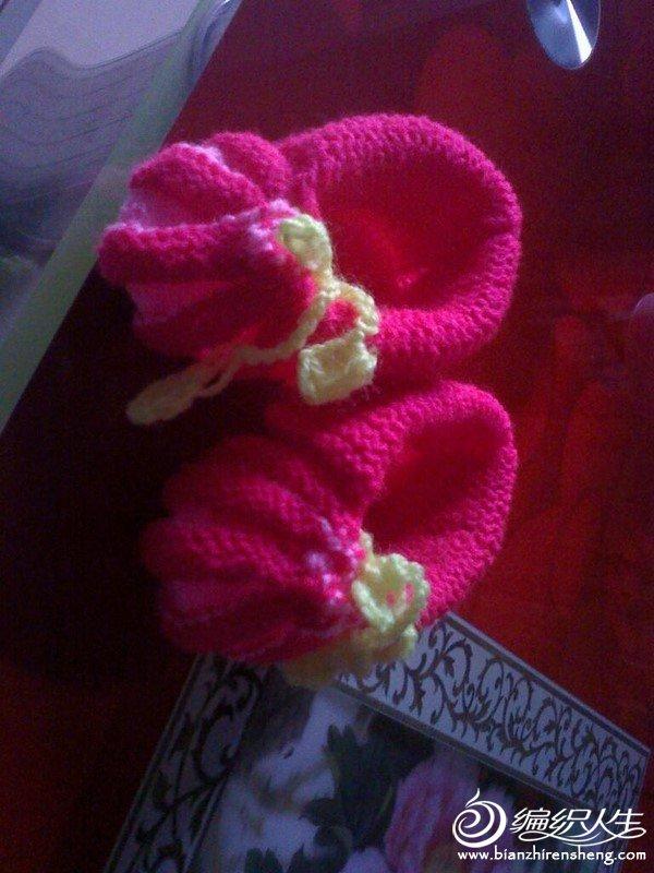 女宝满月鞋