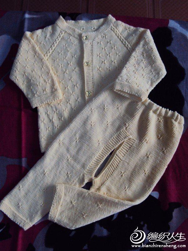 一套宝宝线衣