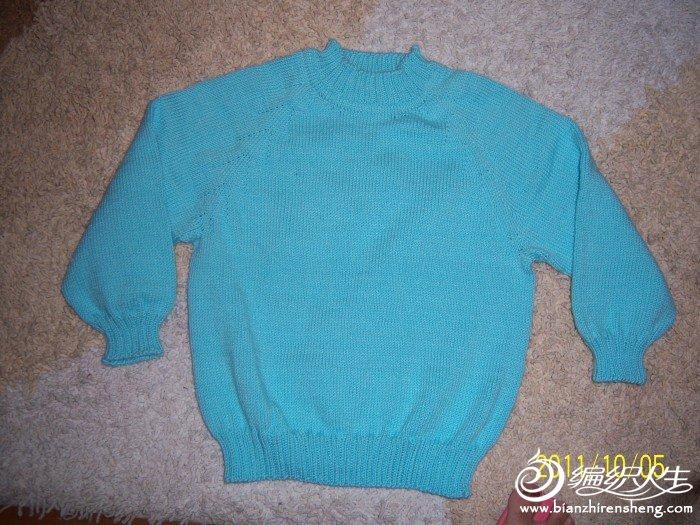 69 儿童毛衣(棒针) 69 2005-2010年归档 69 简单的平针毛衣