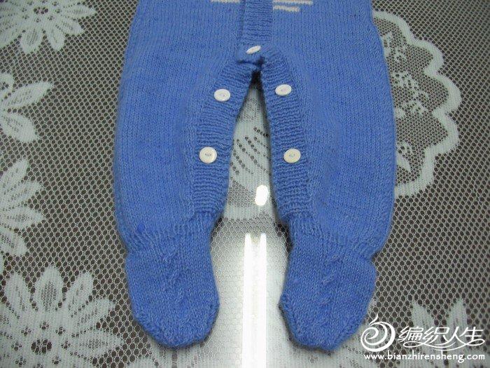 裤腿与袜的正面照