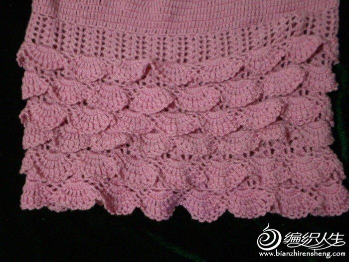 儿童毛衣裙子细节图