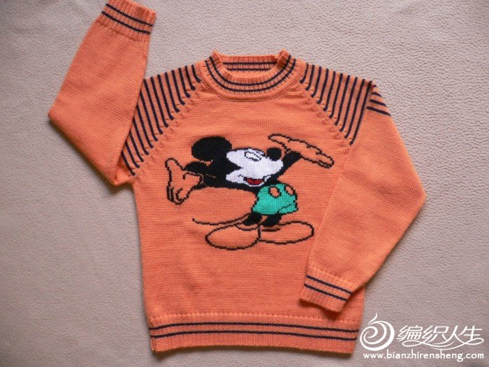 信息中心 (转)儿童毛衣   儿童毛衣怎么编织图案一,如果是小女生,可以
