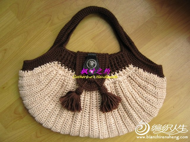 钩针编织动物背包