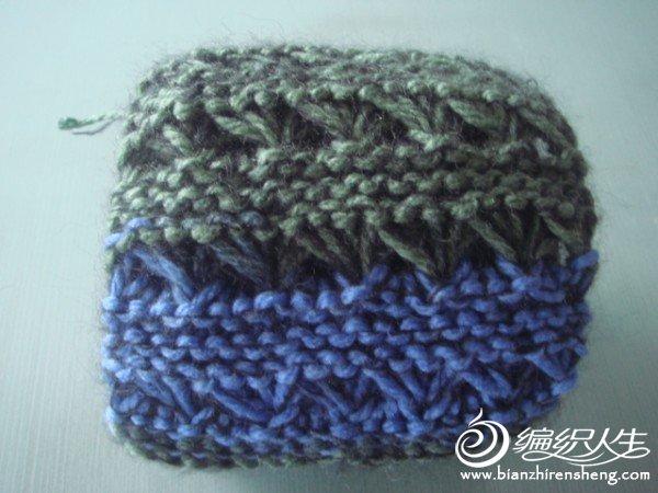 试用线成就的围巾