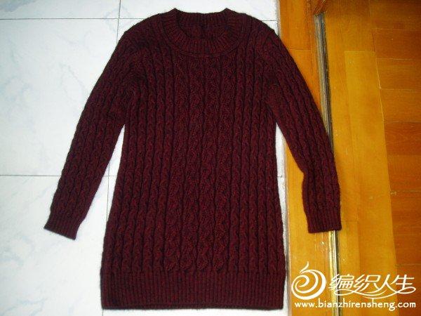 山羊绒长款毛衣2