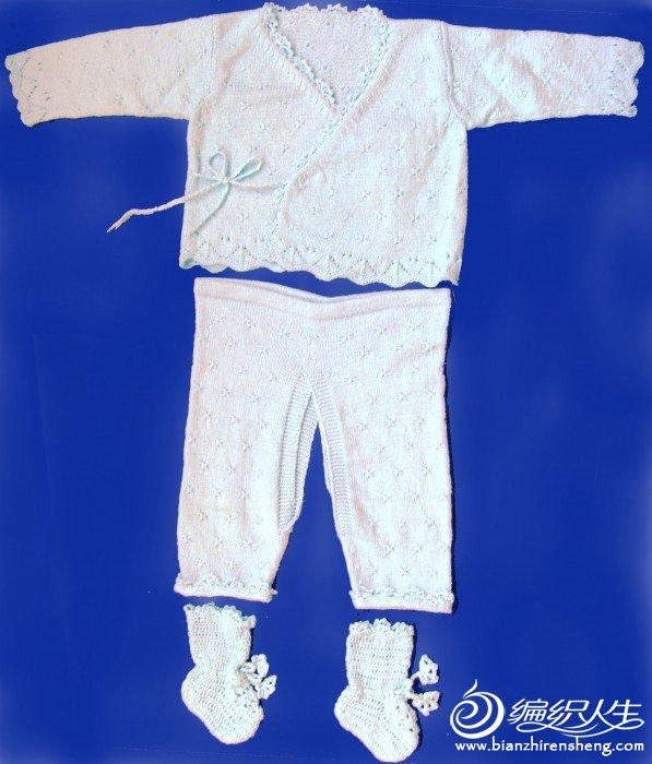 婴儿毛衫套装