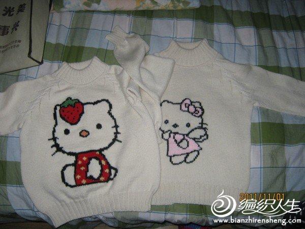 双胞胎的毛衣