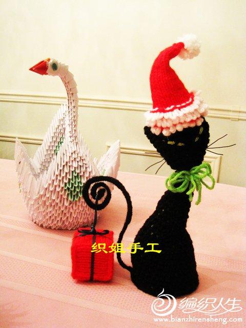 织姐--圣诞送礼猫