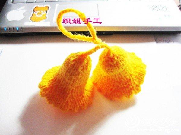 织姐针织--圣诞铃铛