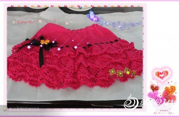 看见瞳娘的蛋糕裙很喜欢,就仿了一条