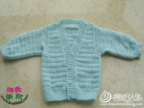 [宝宝上衣] 发一款N年前织的女儿的上衣.jpg