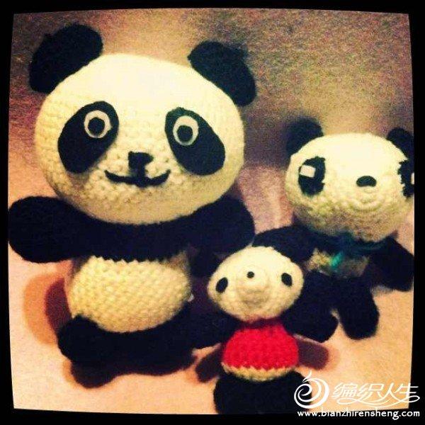 【懒嘿嘿】-熊猫一家
