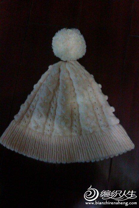 牛奶棉帽子