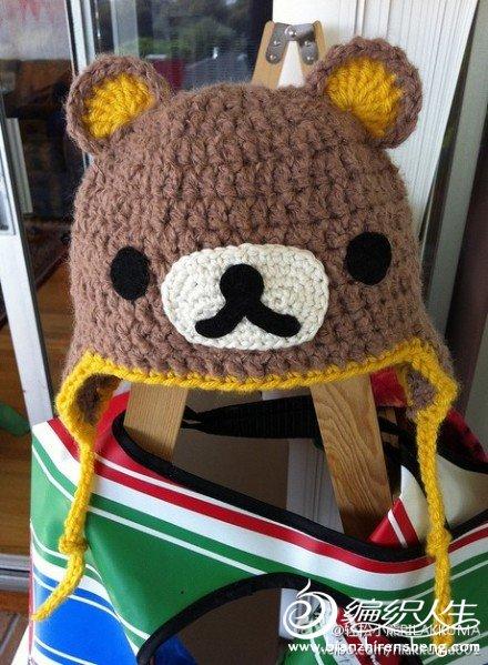 轻松熊帽子~