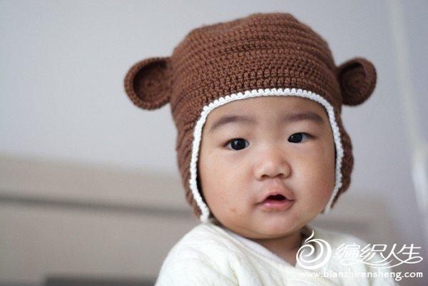 小熊护耳帽