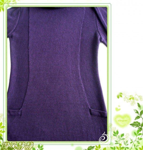 简单时尚的毛衣裙