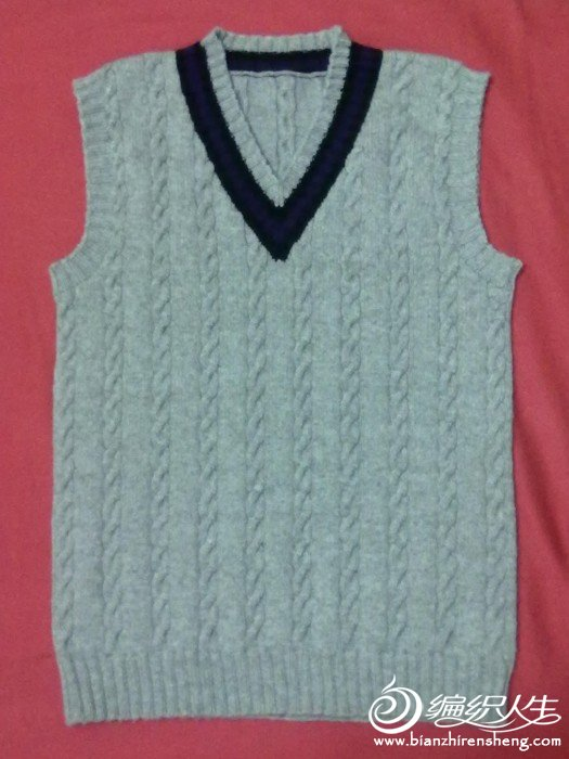 新手的第二件毛衣
