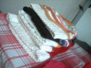 衣服不怎么会织 就织帽子!