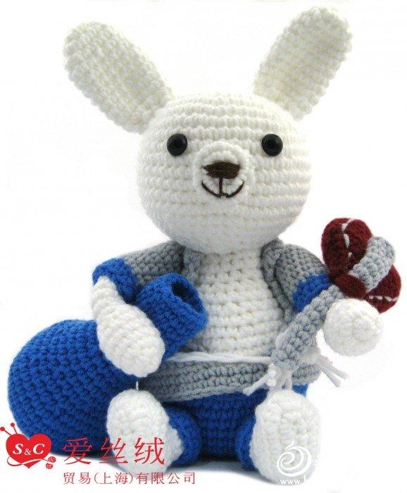 七福兔- 玩偶纱EX991