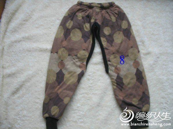 加厚型棉裤