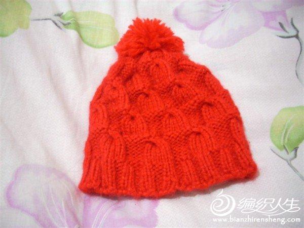 给外甥女织的帽子.jpg