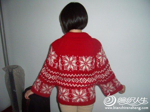 圣诞红披肩.JPG