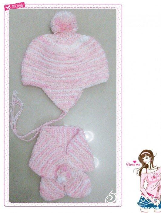 粉色护耳帽&蝴蝶巾.jpg