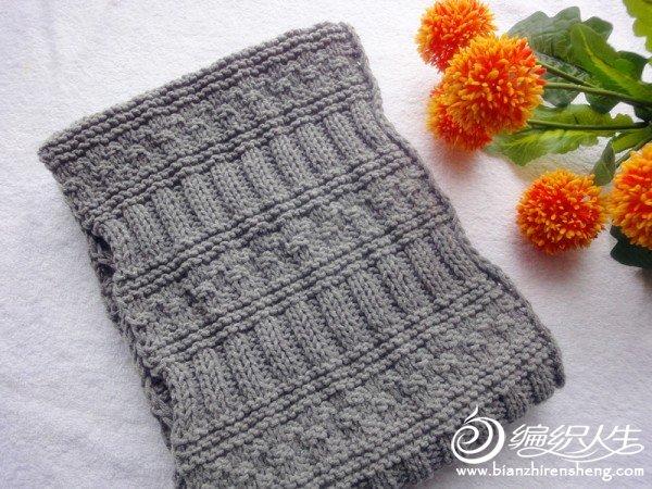 仿了一款男式韩版围巾,觉得真的不错啊!