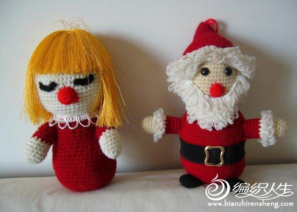 娃娃与圣诞老人.JPG