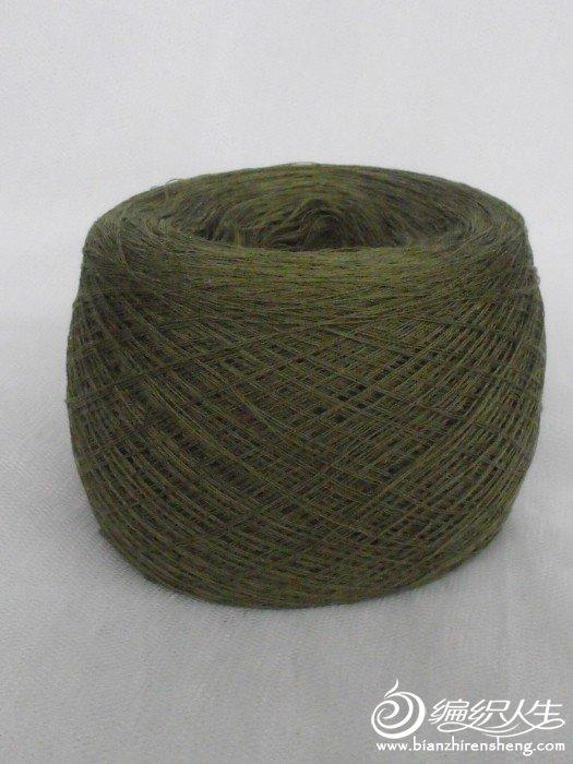 豆绿色纯棉线.JPG